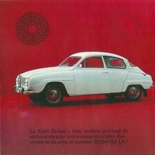 Catalogue SAAB Sedan 1965 catalog propekt brochure publicité automobile car