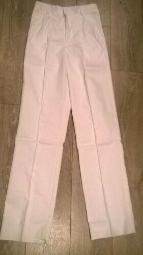 décorateur peintre Nouveau BOYD COOPER Blanc Homme Pantalons de travail Pantalons NHS hôpital Cricket
