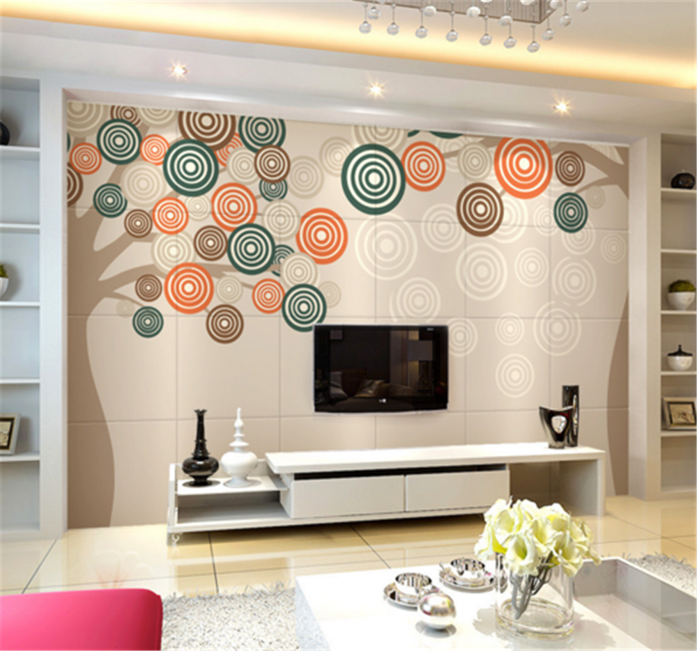 3D Farbe Circle 762 Wallpaper Mural Paper Wall Print Wallpaper Murals UK Carly