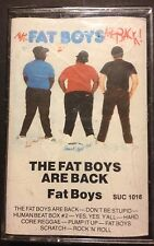 The Fat Boys, The Fat Boys Are Back, Cassette Tape, Like New/ Original Seal 1985