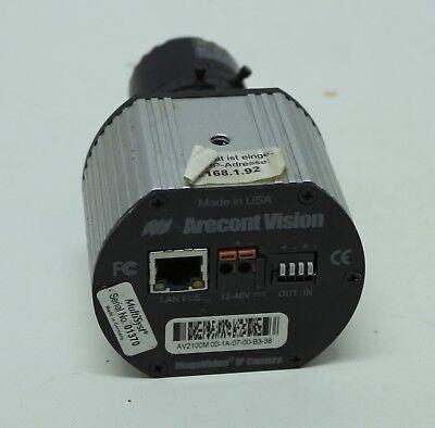 Arecont Av2100m Ip Camera Color, 2mp, Mjpeg, 1600x1200 + Objektiv Kamera Attraktive Designs;