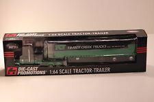 DCP 1/64 Peterbilt 379 Timber Creek Trucks TCT 53' Reefer Semi Trailer 33125 NIB