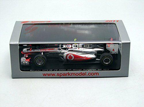 McLaren J. Button 2011  4 Winner Hungarian Gp 1 43 MODEL s3029 SPARK MODEL