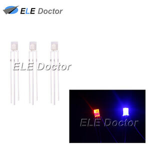 1000pcs-2x3x4mm-Diffused-Red-Blue-Light-Common-Anode-Rectangle-LED-Diodes