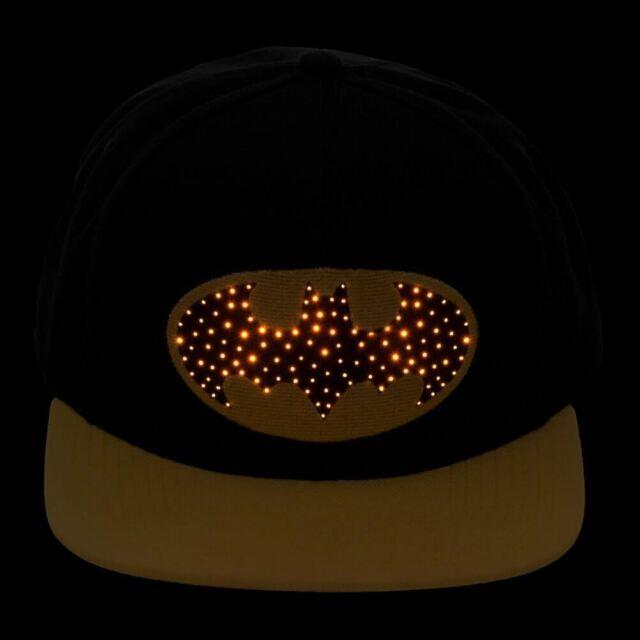 Batman Hat Cap Hip-Hop Canvas Baseball 3D LOGO DC Comics Hats Cosplay Otaku