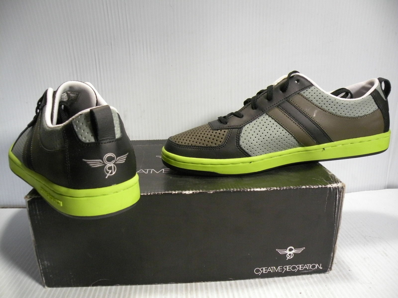 Creative Recreation dicoco  Shoes Shoes Shoes Mens BLACK/SMOKE/GREEN CR39LO38 size 13 new 9ed08a