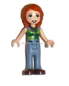Lego Friends Minifigure Ann With Sand Blue Trousers Mias Mom