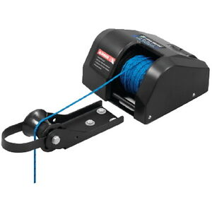 12 Volt Fisherman 25 Anchor Winch For Boats Freshwater