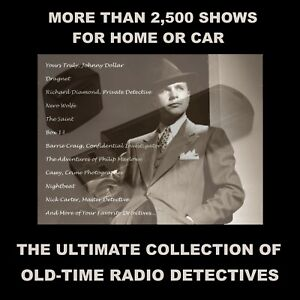 ULTIMATE-COLLECTION-OF-OLD-TIME-RADIO-DETECTIVES-2500-SHOWS-FOR-CAR-OR-HOME