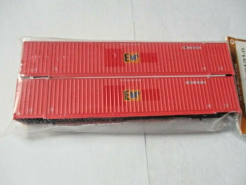 Jacksonville Terminal Company # 535041 EMP 53/' Container N-Scale