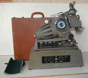 Projecteur-ancien-Heurtier-HSM-serie-53-et-amplificateur-a-restaurer