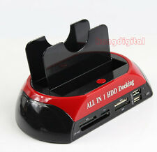 "All In 1 HDD Docking Station USB2.0 OTB OTC For All 2.5"" 3.5""IDE/SATA HDD"