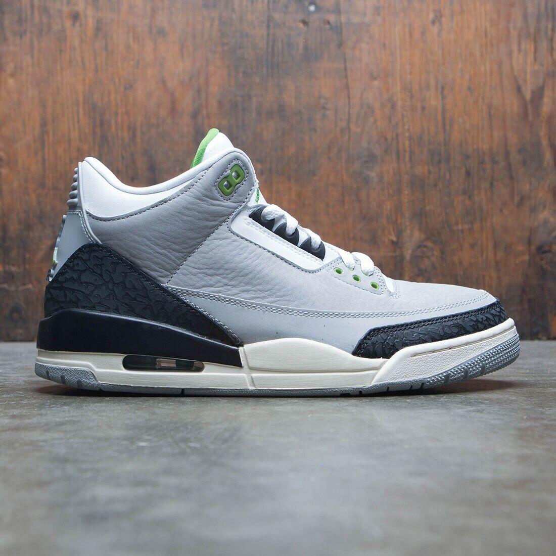 2018 Nike Air Jordan 3 Retro Chlgoldphyll Size Size Size 16. 136064-006 ae06f2