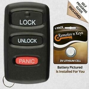Car Transmitter Alarm Remote Key for 1998 1999 2000 2001 Chevrolet Blazer 803