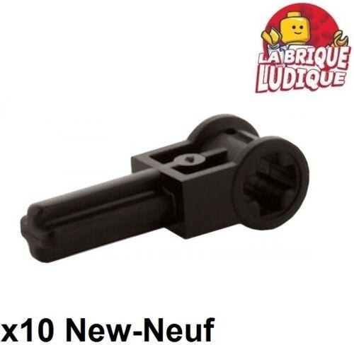 Lego Technic 10x Pole reverser handle manette levier axle noir//black 6553 NEUF