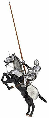 15th Century Gotico Equestre Armor Argento Takeya Liberamente Figura KT-027