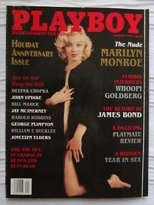 Amazon.com: Playboy Magazine January 1997 Marilyn Monroe