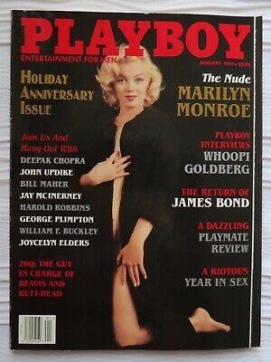 Playboy January 1997 Holiday Anniversary Issue Nude
