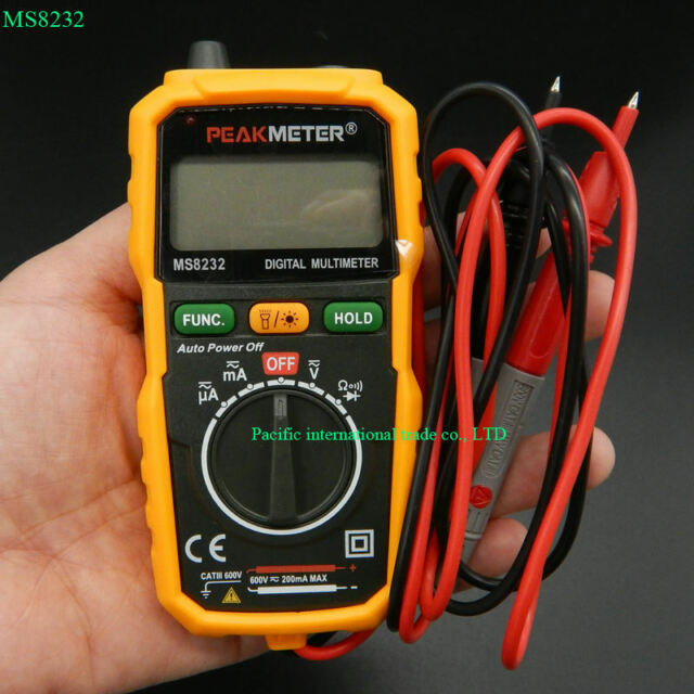 Non-Contact Mini Digital Multimeter  Voltage Current Tester Ammeter Multitester