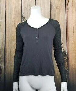 American-Eagle-Outfitters-Long-Sparkly-Raglan-Top-Size-Small