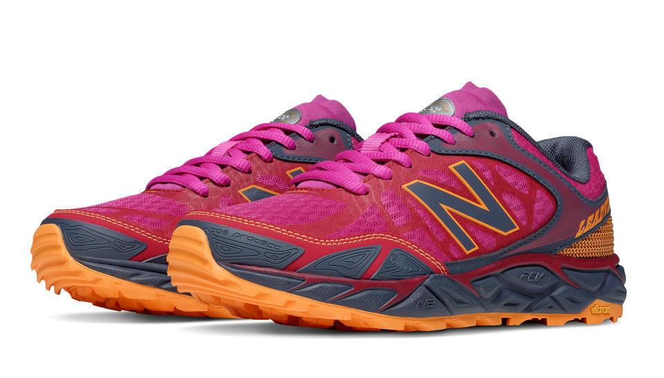 New Balance WTLEADA3 Women's Trail Running Shoes, Azalea with Grey