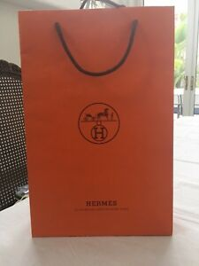 Image is loading Hermes-Large-Paper-Shopping-Bag-NEW 2633f25e54a3b