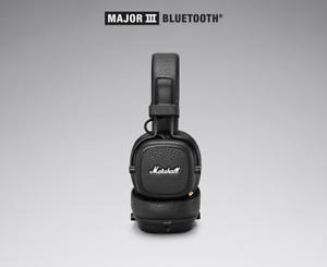 Marshall-Major-III-Bluetooth-Black-3-5mm-wireless-Bluetooth-Mic-HIFI-headphones