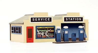 PETROL SERVICE STATION Dapol C032 Plastic KIT 00/HO Gauge 1/76 Model Railways