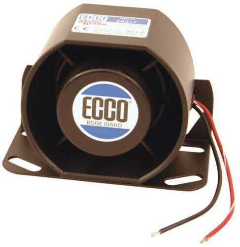 87 to 112dB Black SA917 ECCO SA917N Back Up Alarm