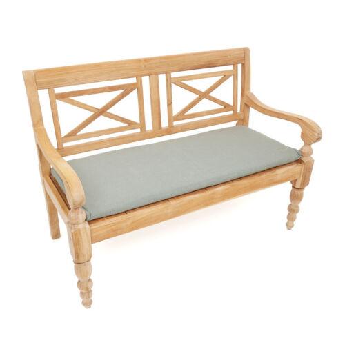 Roggemann Pillow Cushion for Bench 2 Seater 110 x 45 cm Taupe Grey Pearl Effect