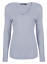 Womens-Ladies-Girls-Plain-Long-Sleeve-V-NECK-T-Shirt-Top-Plus-Size-Tops-Shirt thumbnail 7