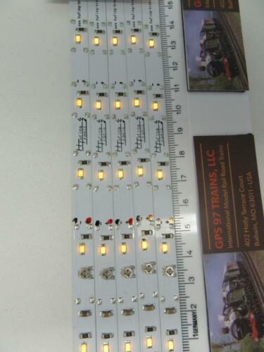 "5LED Yellow LED Interior Light Strip GPS LS6Y  6/"" N /& HO"
