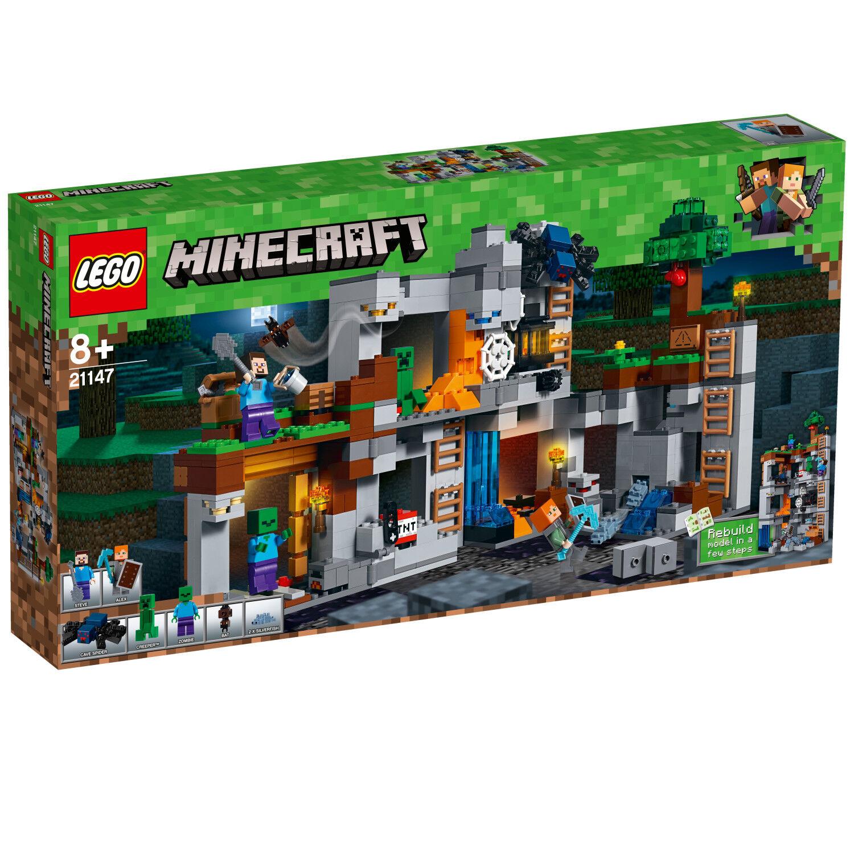 LEGO Minecraft Minecraft Minecraft 21147 Abenteuer in den Felsen Les aventures N8 18 f3a0f3