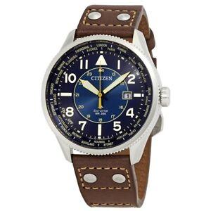 Citizen Promaster Nighthawk Perpetual World Time Men's Watch - BX1010-11L NEW