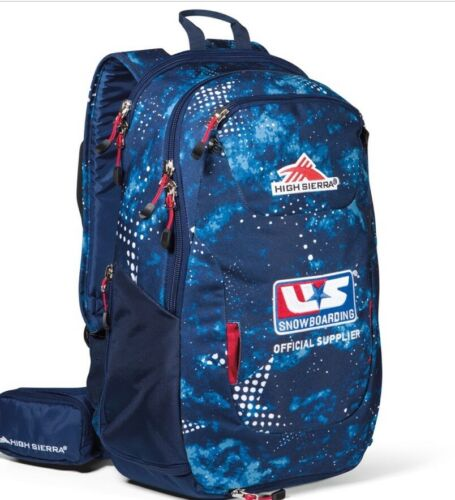 New High Sierra US Snowboarding m Backpack Small Blue Star Gaze True Navy NWT