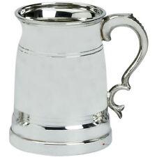 Tankard Pewter All Over Celtic Spiral Pattern 1pt Ornate Handle Ideal Gift