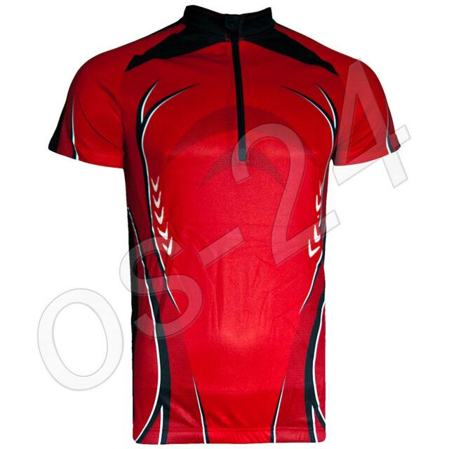 Herren Fahrradshirt Fahrrad Shirt Radshirt Radtrikot Rad Trikot Gr.M L XL