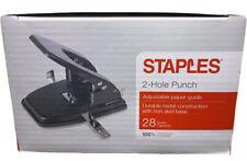 Staples 2 Hole Punch 28 Sheet Capacity