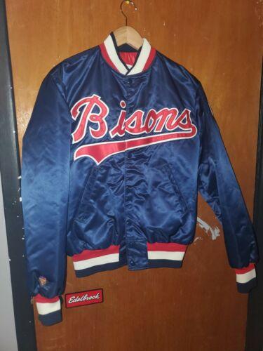 Vintage Buffalo Bisons Minor League MLB Satin Bomb