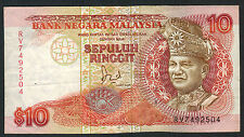 MALAISIE - 10 RINGGIT Pick n° 29. de 1989. en TTB   RV 7492504