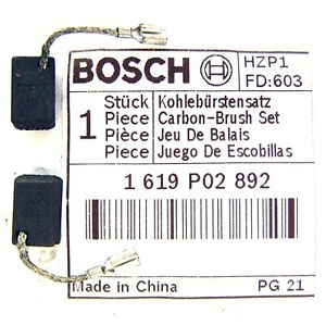 Bosch-Carbon-Brushes-for-110V-GWS-7-115-7-100-Slim-Grip-Angle-Grinder-1619P02892