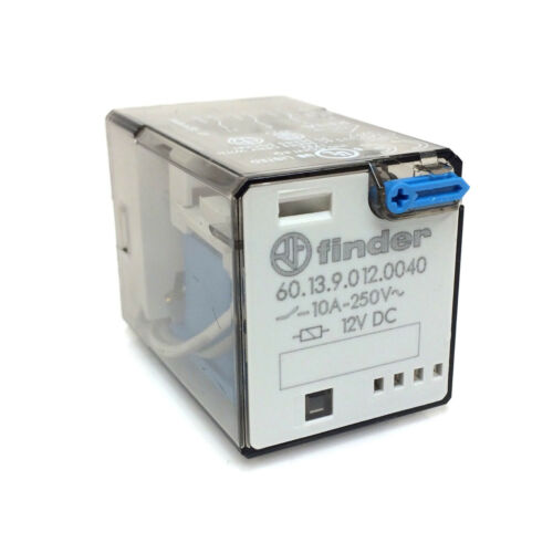 3-pole Control Relay 60.13.9.012.0040 Finder 12VDC 3PDT 601390120040
