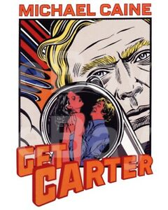 Get-Carter-1971-Michael-Caine-Poster-10x8-Photo