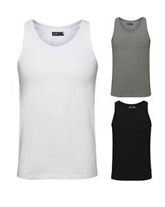 a649ac523b04e4 Jack & Jones Herren T-Shirt S bis XXL ohne Arm Basic Tank Top ...