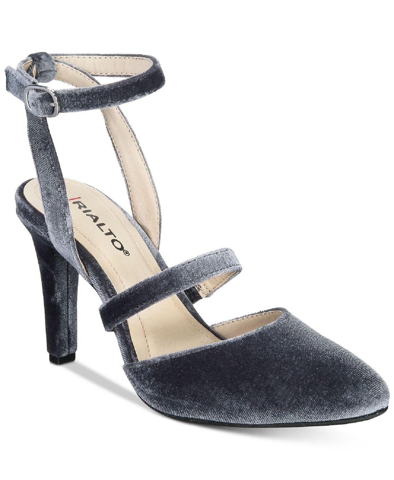 Rialto para Mujer Vestido Zapatos (gris Terciopelo calina, calina, calina, 10)  tienda de bajo costo