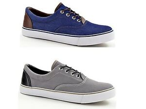 Fashion Men Low Top Lace Up Deck Shoes