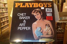 Chet Baker & Art Pepper Playboys LP sealed 180 gm vinyl Jazz Wax