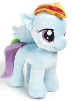 New My Little Pony RAINBOW DASH Blue Plush Doll Toy 10 inches gift Boy Girl