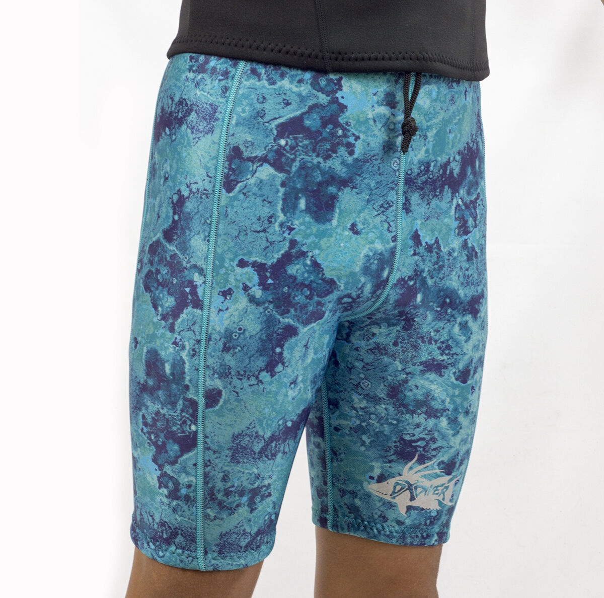 DXDIVER 2MM SHORT PANTS CAMO NEOPRENE SCUBA DIVING SPEARFISHING FREEDIVING NEW