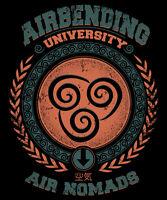 Avatar Last Airbender Aang Korra Air Bending Limited Edition Mens T-shirt M-2xl